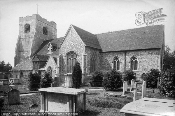 Photo of Leatherhead, Church Of St Mary And St Nicholas 1888