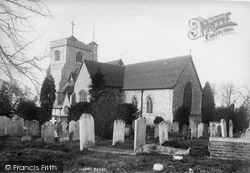 Leatherhead, Church Of St Mary And St Nicholas 1895