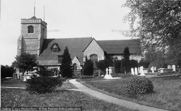Photo of Leatherhead, Church Of St Mary And St Nicholas 1897