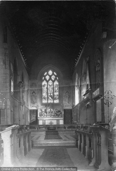 Photo of Leatherhead, Church Of St Mary And St Nicholas, The Chancel 1911