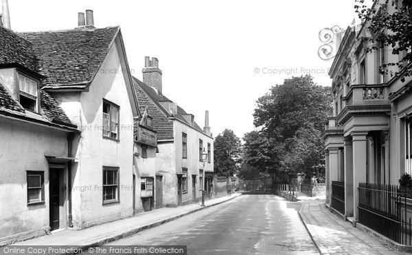 Photo of Leatherhead, Church Street 1895