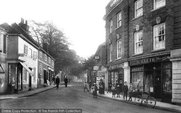 Photo of Leatherhead, Church Street 1913