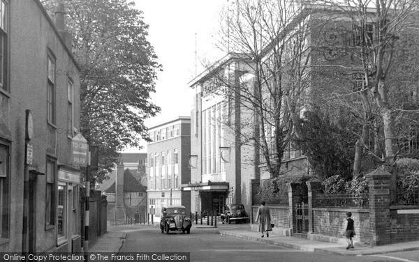 Photo of Leatherhead, Church Street c.1955