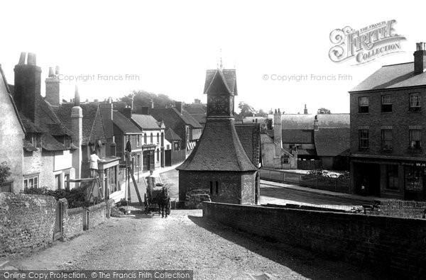 Photo of Leatherhead, Clock Tower 1888