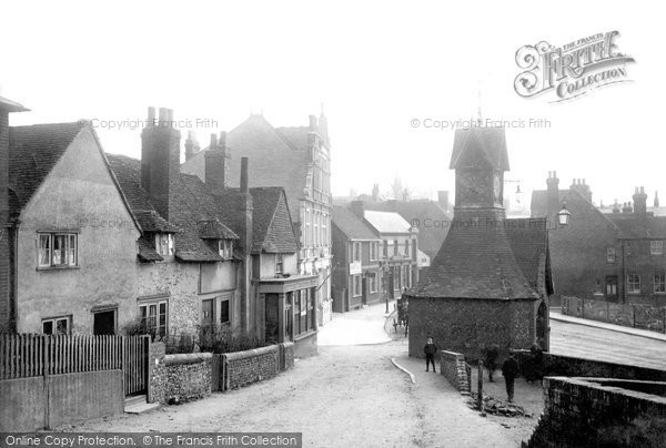 Photo of Leatherhead, Clock Tower 1902