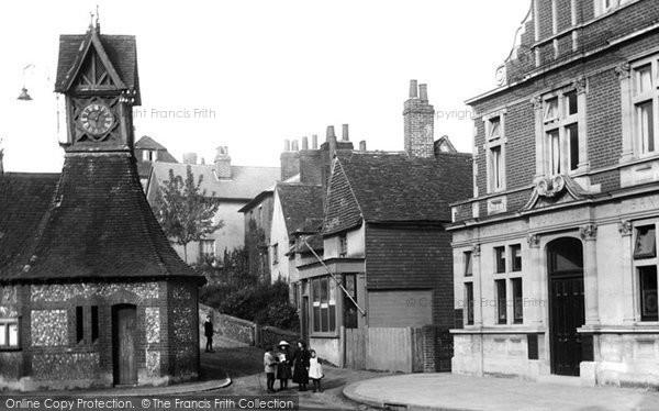 Photo of Leatherhead, Clock Tower 1913