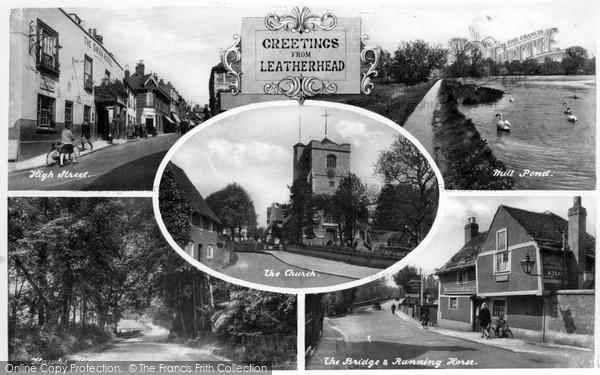 Photo of Leatherhead, Composite
