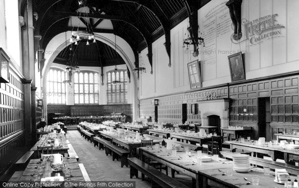 Leatherhead, Dining Room, St John's School c.1955