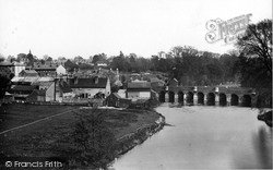 Leatherhead, From Railway Bridge 1897