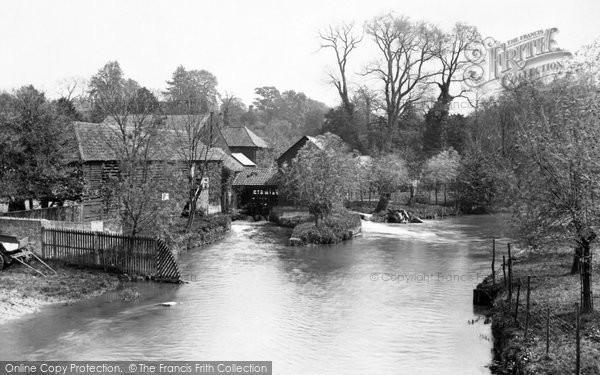 Photo of Leatherhead, From The Bridge 1925