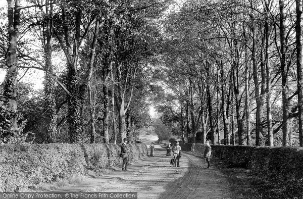 Photo of Leatherhead, Headley Road 1909