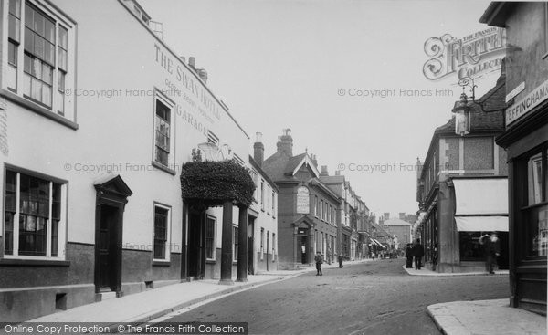 Photo of Leatherhead, High Street 1906
