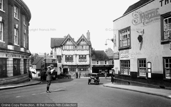 Photo of Leatherhead, High Street 1932