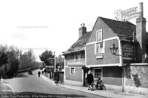 Photo of Leatherhead, High Street And The Running Horse 1925