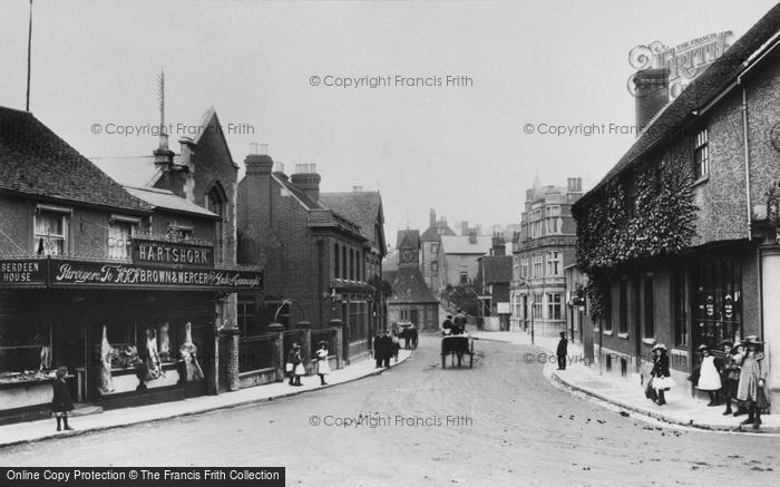 Photo of Leatherhead, North Street 1906