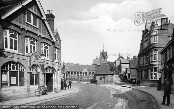 Photo of Leatherhead, North Street 1921