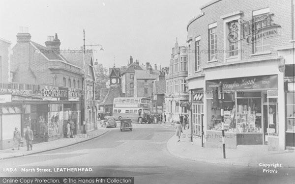 Photo of Leatherhead, North Street c.1950