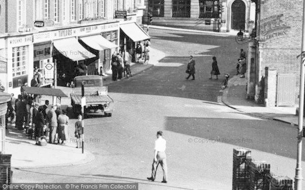 Photo of Leatherhead, North Street c.1955