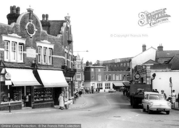 Photo of Leatherhead, North Street c.1965