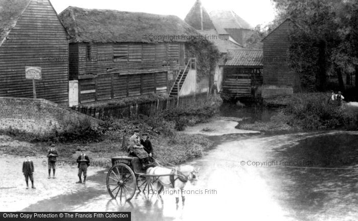 Photo of Leatherhead, Old Mill 1906