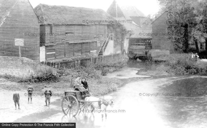 Leatherhead,Old Mill 1906,Surrey