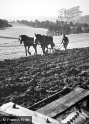 Ploughing 1925, Leatherhead