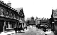 Leatherhead, Post Office and Town Clock 1895
