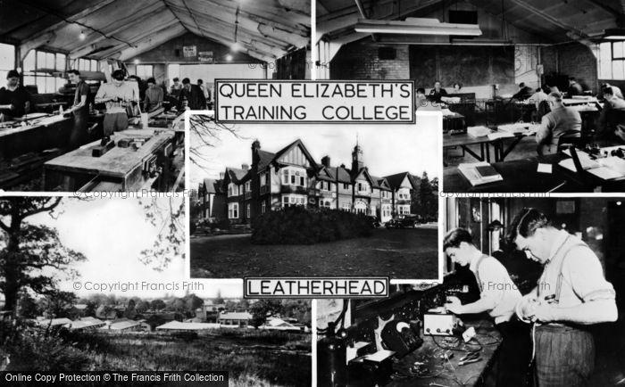 Photo of Leatherhead, Queen Elizabeth's Training College c.1955