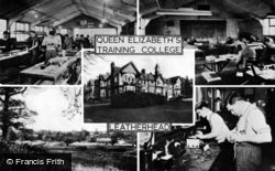Leatherhead, Queen Elizabeth's Training College c.1955