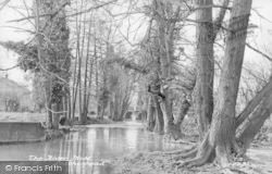 Leatherhead, River Mole c.1955