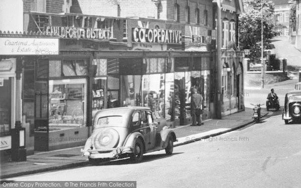 Photo of Leatherhead, The Co Operative c.1955