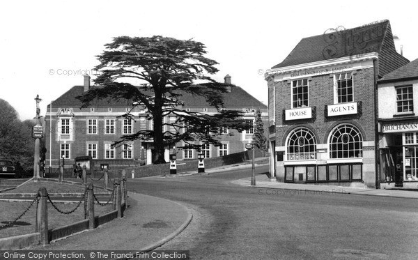 Photo of Leatherhead, The Council Offices c.1955