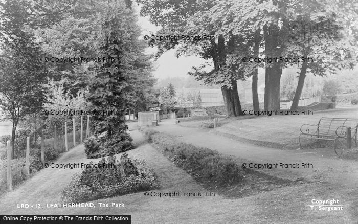 Photo of Leatherhead, The Park c.1950