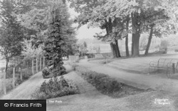 Leatherhead, The Park c.1950