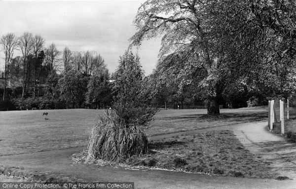 Photo of Leatherhead, The Recreation Ground c.1955