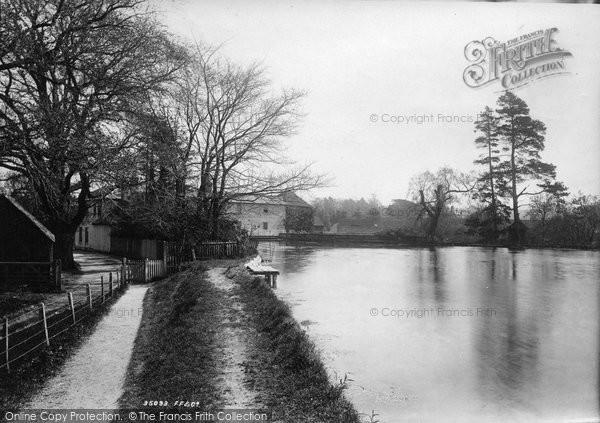 Photo of Leatherhead, The River Mole 1895