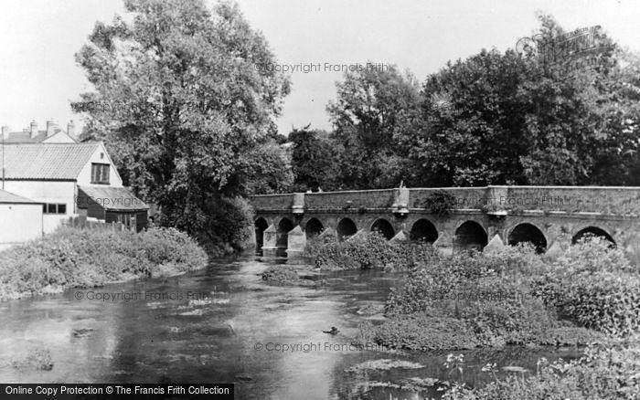 Photo of Leatherhead, The River Mole c.1950