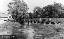 The River Mole c.1950, Leatherhead