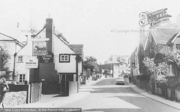 Photo of Leatherhead, The Running Horse, Bridge Street c.1965