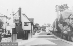 Leatherhead, The Running Horse, Bridge Street c.1965