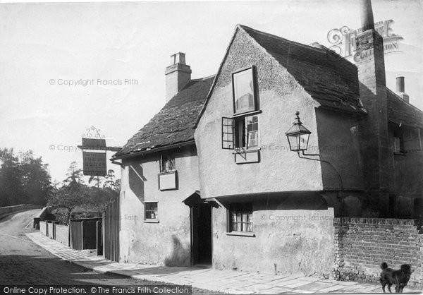 Photo of Leatherhead, The Running Horse Inn 1888