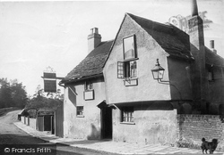 Leatherhead, The Running Horse Inn 1888