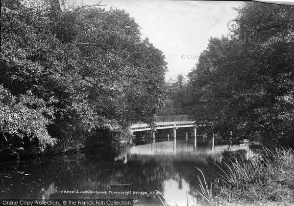 Photo of Leatherhead, Thorncroft Bridge 1902