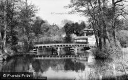 Thorncroft Bridge c.1955, Leatherhead