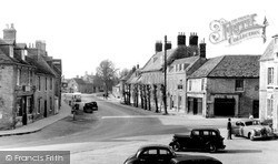 Lechlade, Burford Street c.1950, Lechlade On Thames