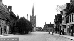 Lechlade, Burford Street c.1955, Lechlade On Thames