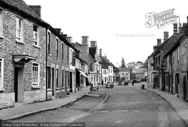Photo of Lechlade, High Street c.1955