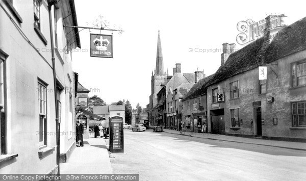 Photo of Lechlade, High Street c.1960