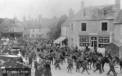 Lechlade, Infantry Parade 1909, Lechlade On Thames