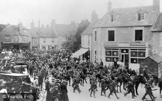 Lechlade, Infantry Parade 1909
